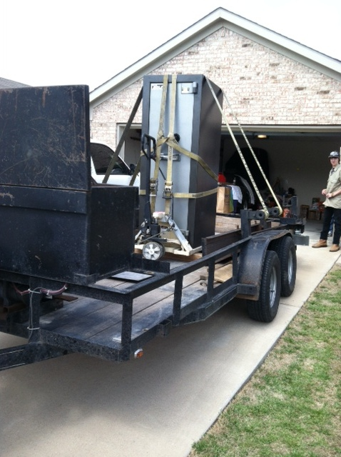 Moving a Bischoff Golf High Security Safe - Tarrant County Lock & Safe