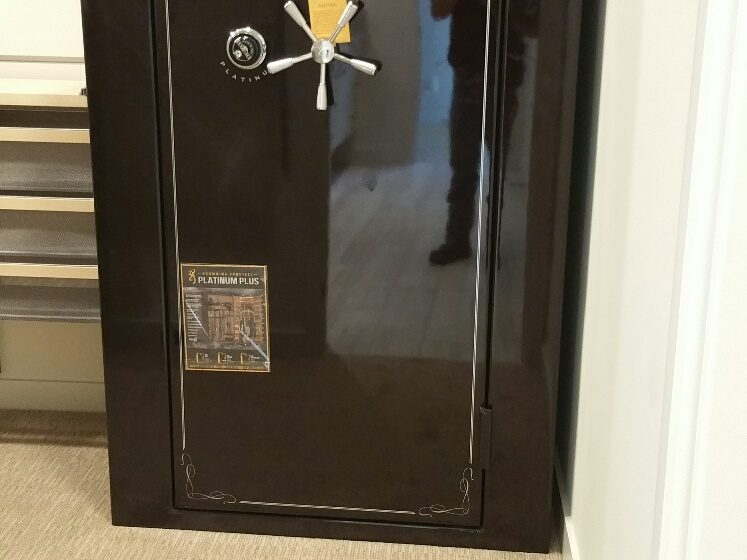 20161114 141323 1479178625194 resized 747x560 - Moving a Browning Prosteel Gun Safe into a closet in a brand new home.