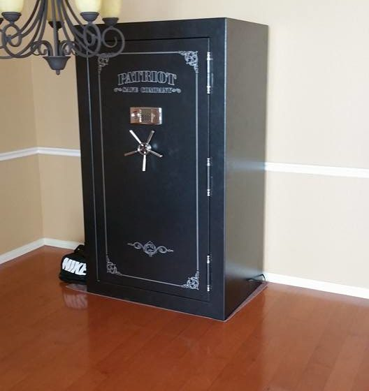 5 2 528x560 - Moving a Patriot Gun Safe