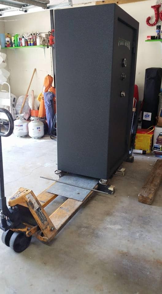 Moving A Fort Knox Gun Safe Off Pallet Tarrant County