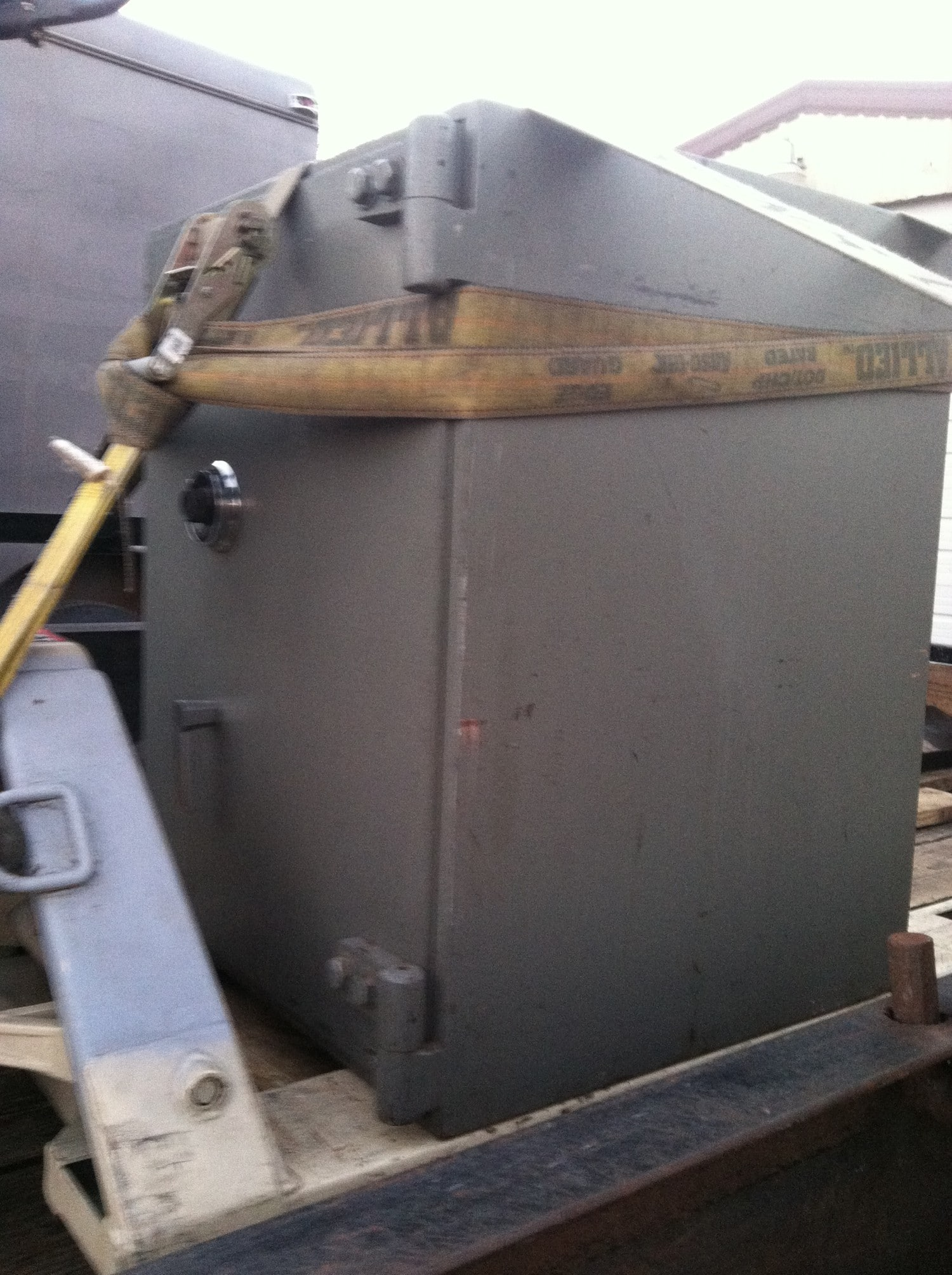 Moving A Custom Steel Safe Tarrant County Lock Amp Safe
