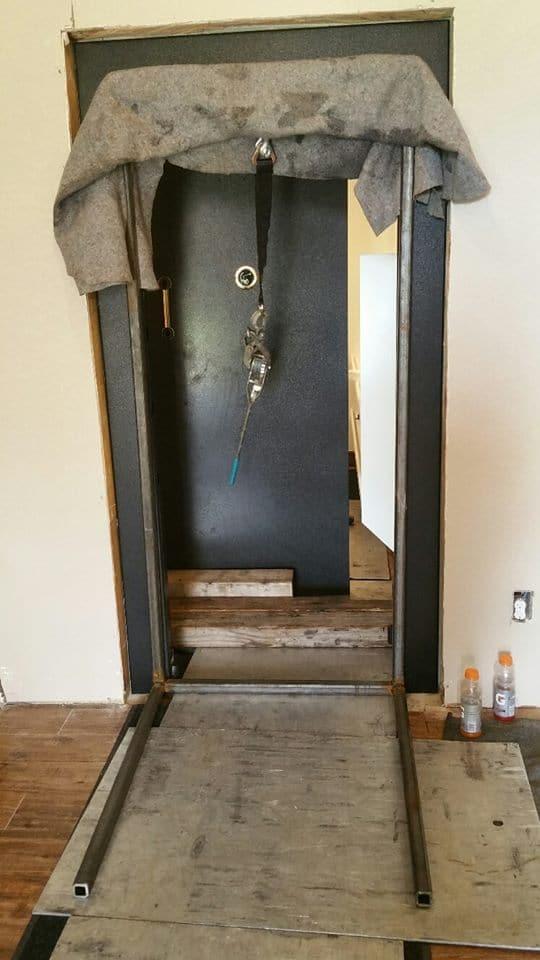 American Security Vault Door We Installed Tarrant County