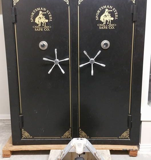 safe move 6 10 528x560 - Moving a Sportsman Steel Double Wide Gun Safe