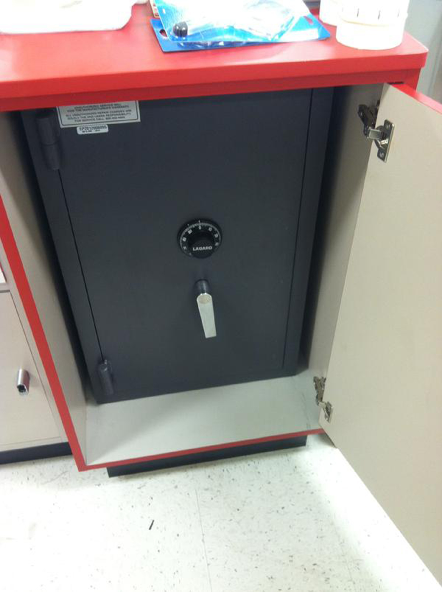 Move Safes Fort Worth TX New B Rate Safe Installed Inside A Cabinet In A  Commercial