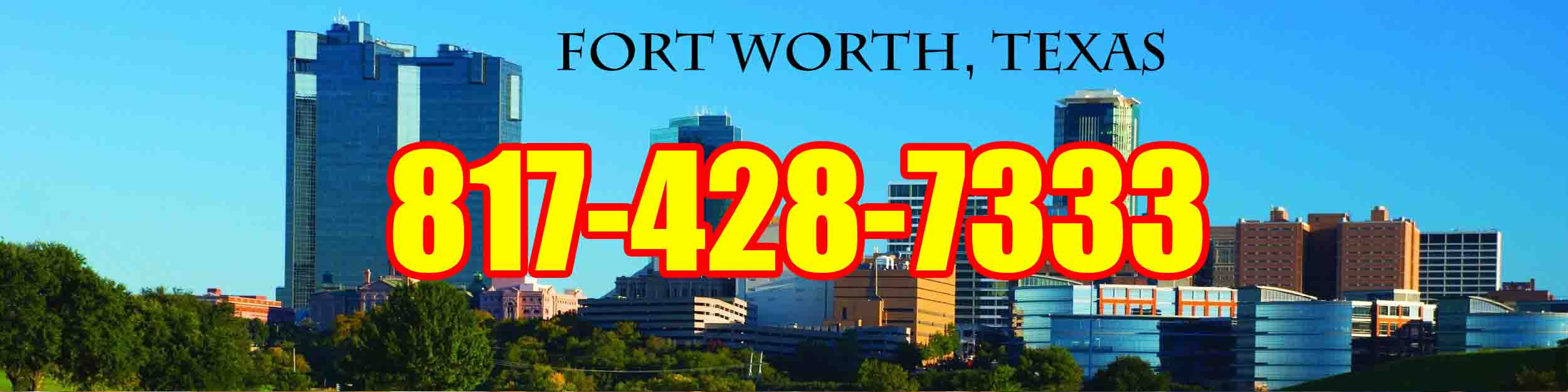 fort worth tx Header - Residential Locksmiths in Fort Worth