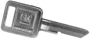GM Regular Car Key