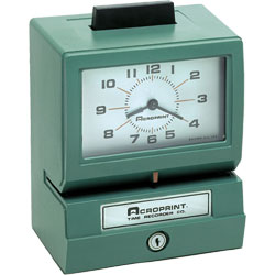 time clock - Contact Us